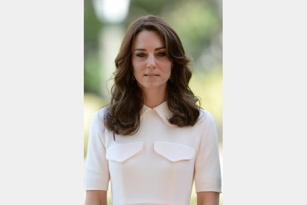 Kate Middleton: la coiffure sage