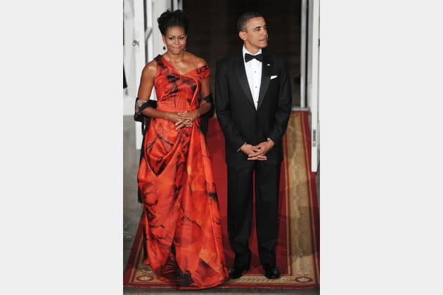 Michelle Obama le 19janvier 2011