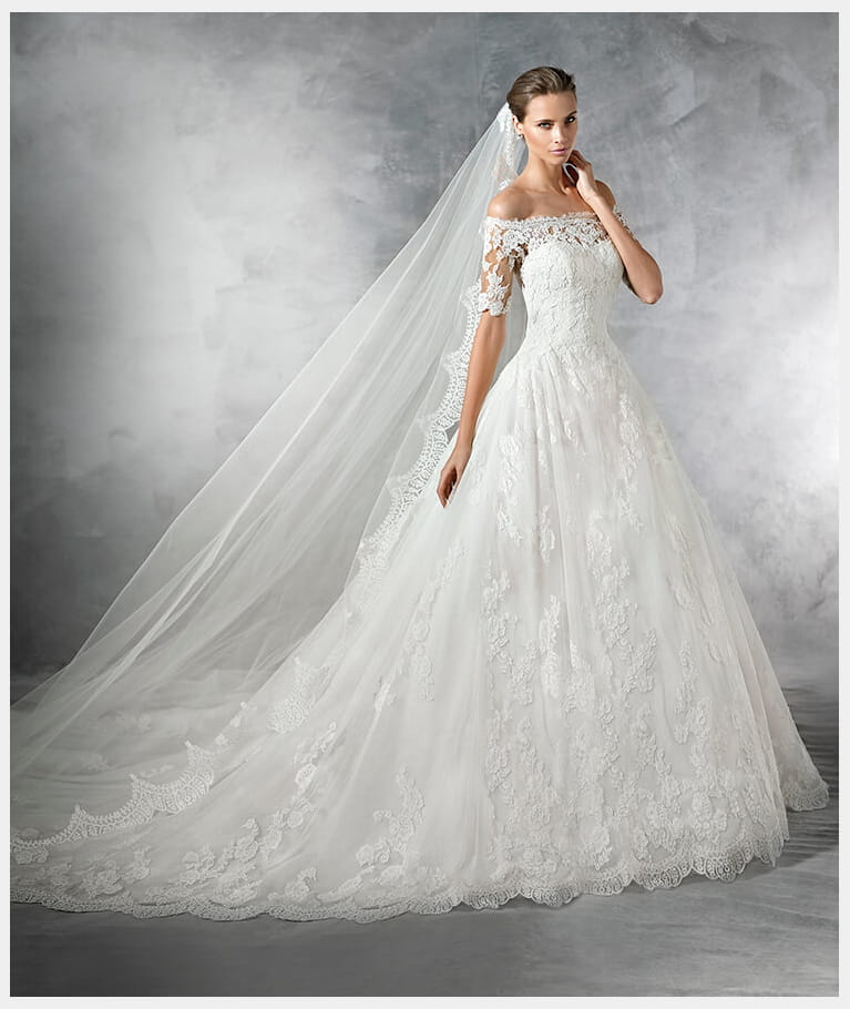 Robe de mariée Pleasant, Pronovias