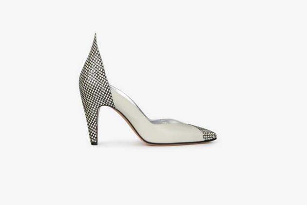 Escarpins résille de Givenchy