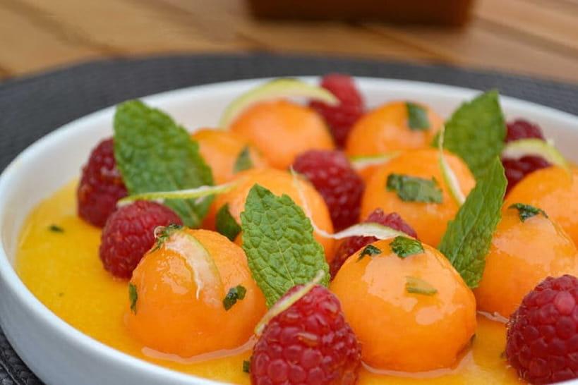 Recettes au melon et à la pastèque