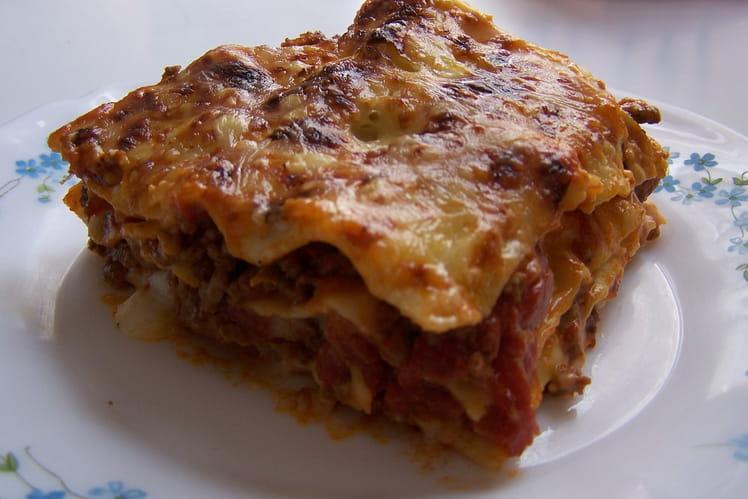 Lasagnes à la bolognaise traditionnelles