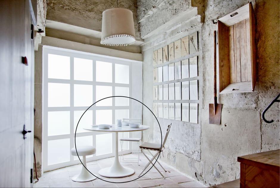 La table Tulipe d'Eero Saarinen pour Knoll