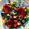 salade aux poivrons grillã©s et graines de courge coralie batista