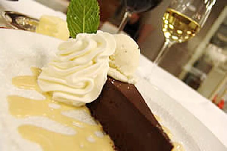 Gâteau au chocolat extra noir