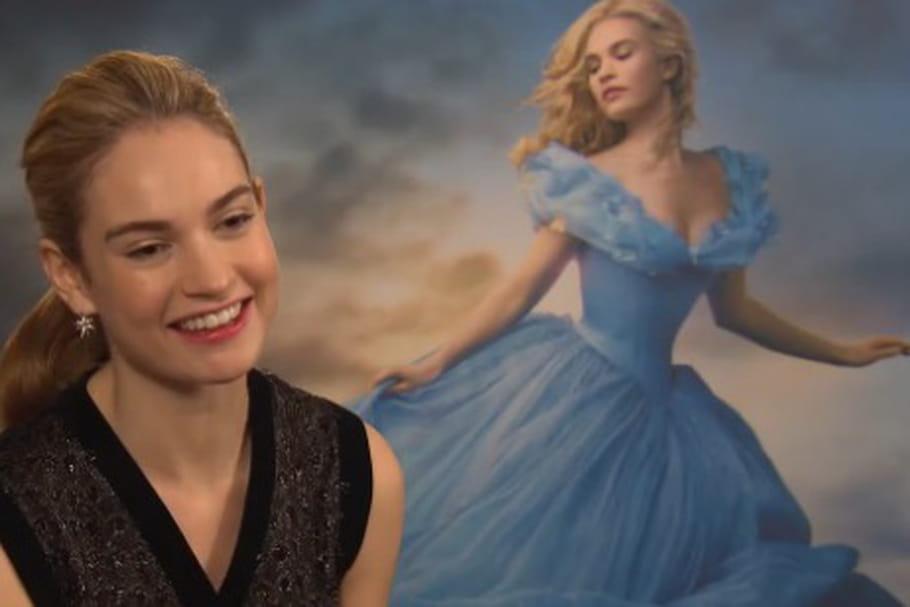 """Lily James: """"Un prince charmant doit savoir me faire rire"""""""