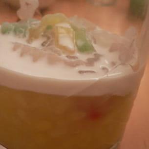 verrine soja-coco