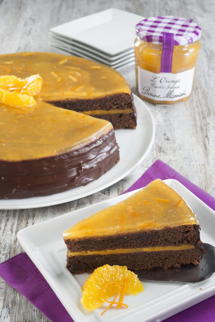 Recette De Gateau Au Chocolat Et A L Orange Fruitee Intense Bonne