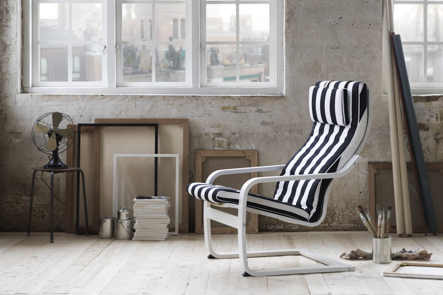 Le fauteuil Poäng d'Ikea a 40ans
