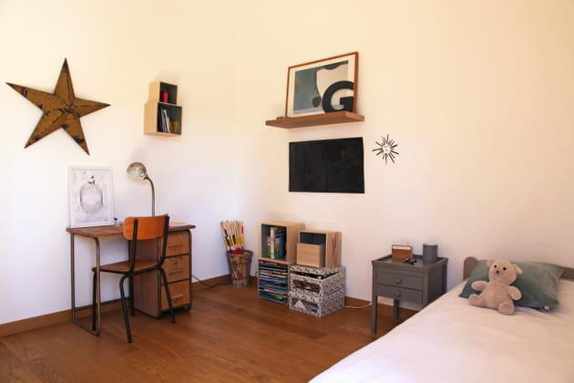 Une chambre aux notes vintage