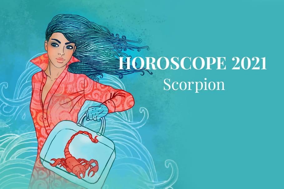 Horoscope Scorpion 2021: vos prévisions astro de l'année