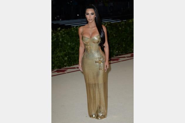 Kim Kardashian en Atelier Versace