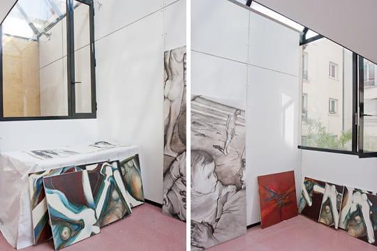 Une verri re id ale pour un atelier de peintre for Enlever odeur cigarette chambre