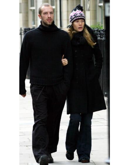 Gwyneth Paltrow et Chris Martin flânent à Londres