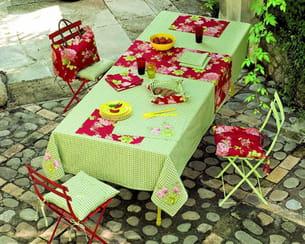 linge de table 'sur la terrasse' de linvosges