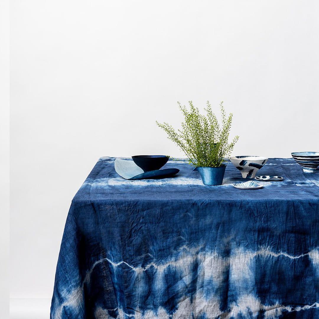 Leroy Merlin Teinture Textile shibori : lumière sur la teinture japonaise indigo star de l'été