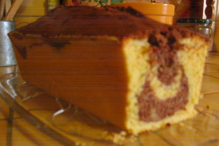 Marbré chocolat vanille