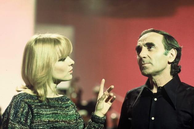 Charles Aznavour et France Gall