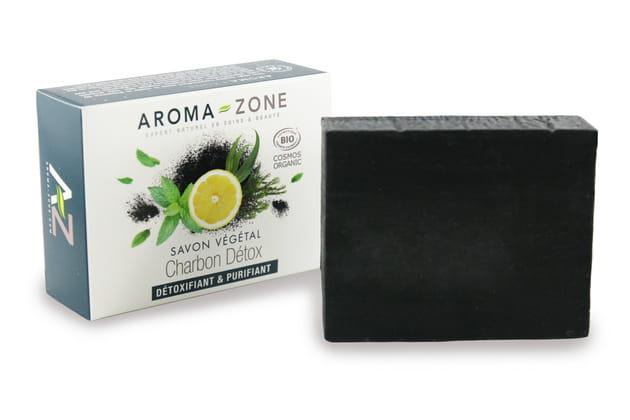 Savon Végétal Charbon Détox Bio de Aroma-Zone
