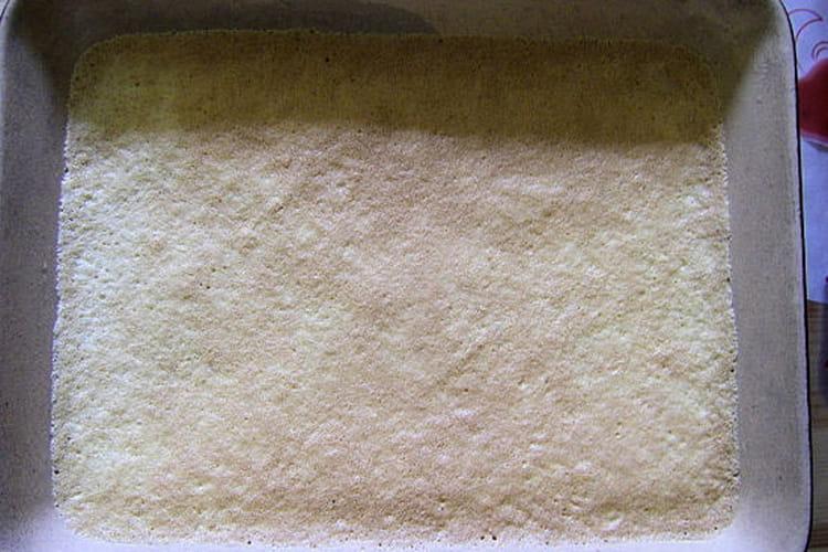 Omelette soufflée au sucre vanillé