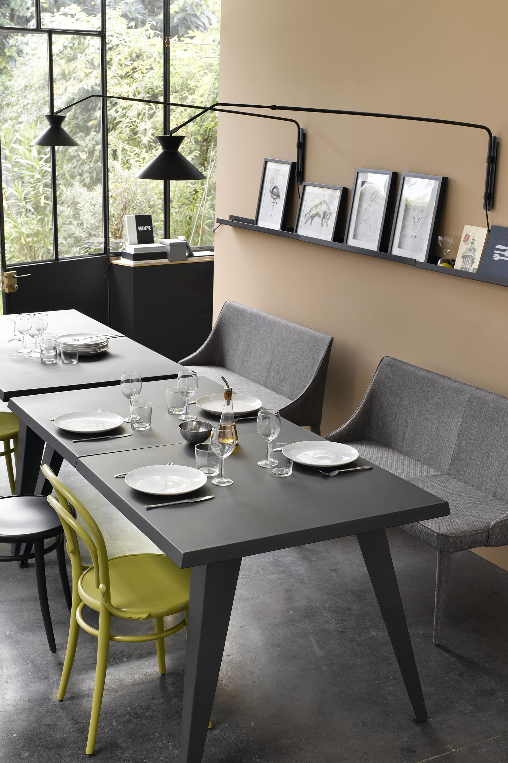 applique voltige bras t lescopique d 39 am pm. Black Bedroom Furniture Sets. Home Design Ideas