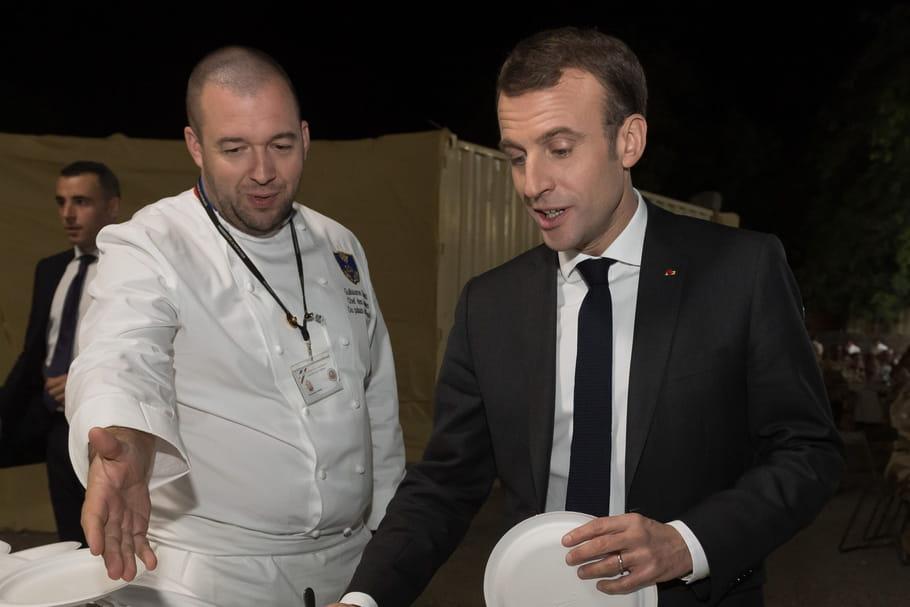 Guillaume Gomez quitte les cuisines de l'Elysée