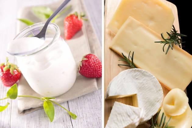 Yaourt ou morceau de fromage?