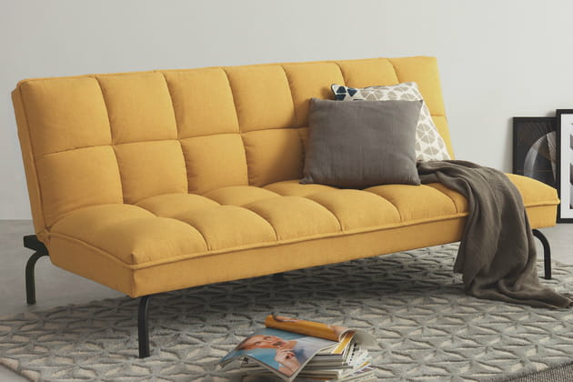 Canapé jaune Made.com