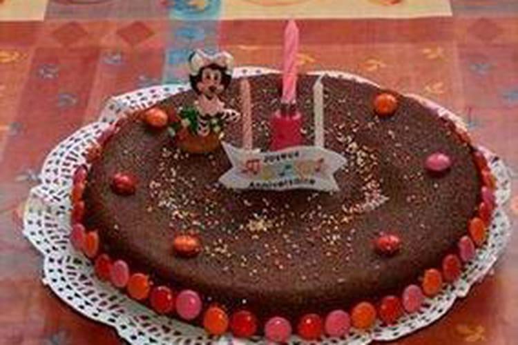 Brownie d'anniversaire