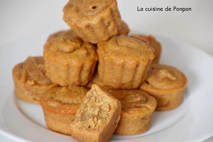 Moelleux à la crème de marron, amandes et écorces d'orange confite