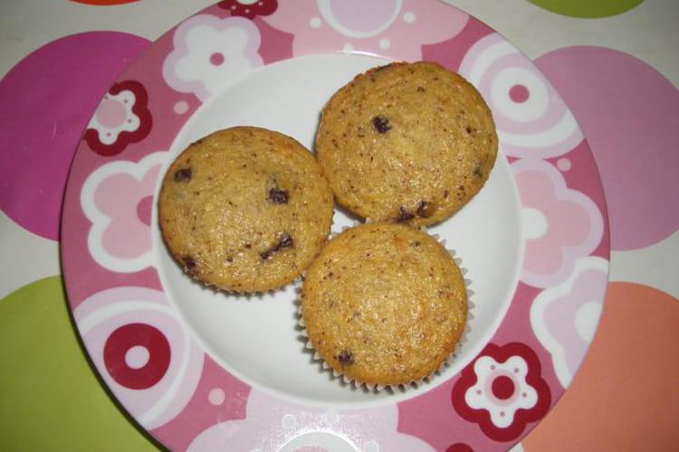 Muffins Banane-choco