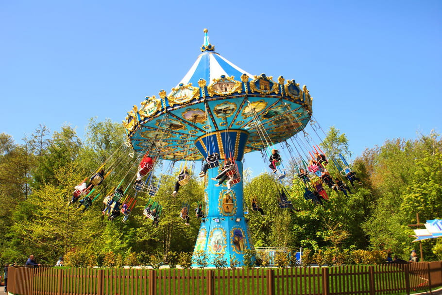 Le parc Bagatelle, l'un des plus anciens parc d'attractions !