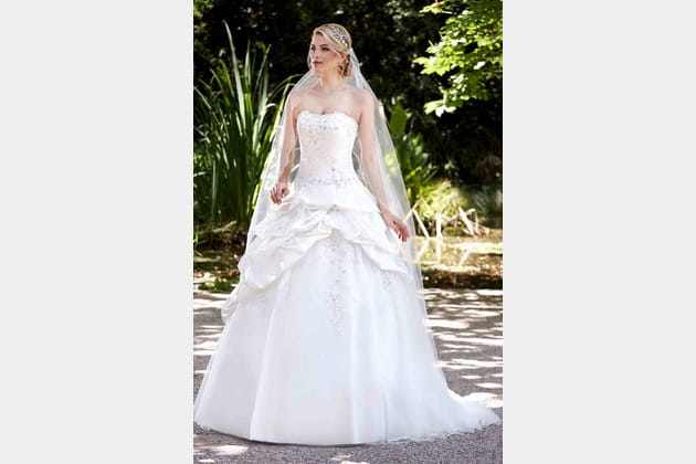 Robe de mariée Majestée de Point Mariage
