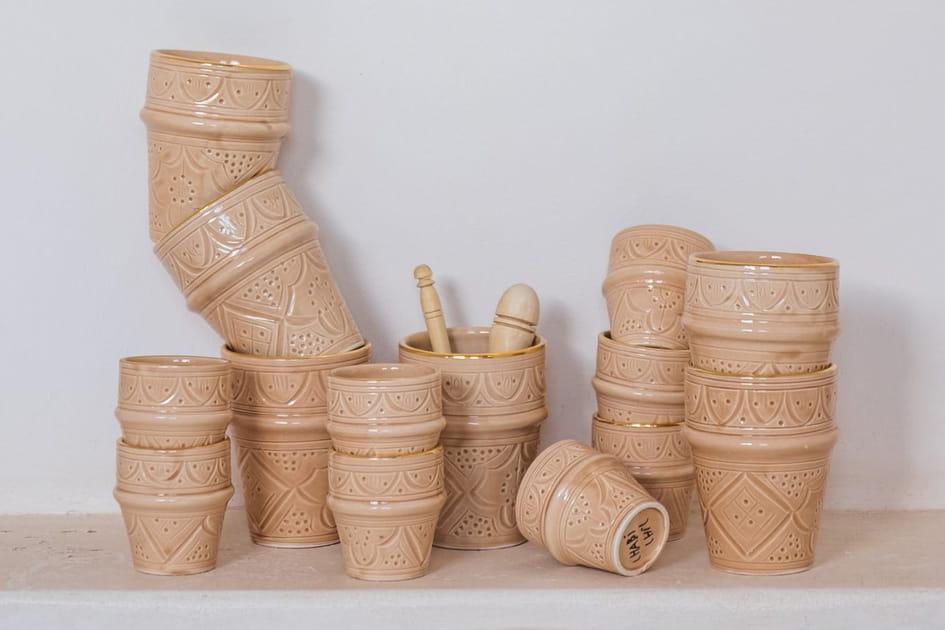 L'objet du désir: les tasses beldi sable de Chabi Chic