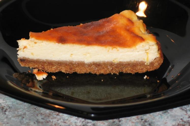 Cheesecake new-yorkais au limoncello