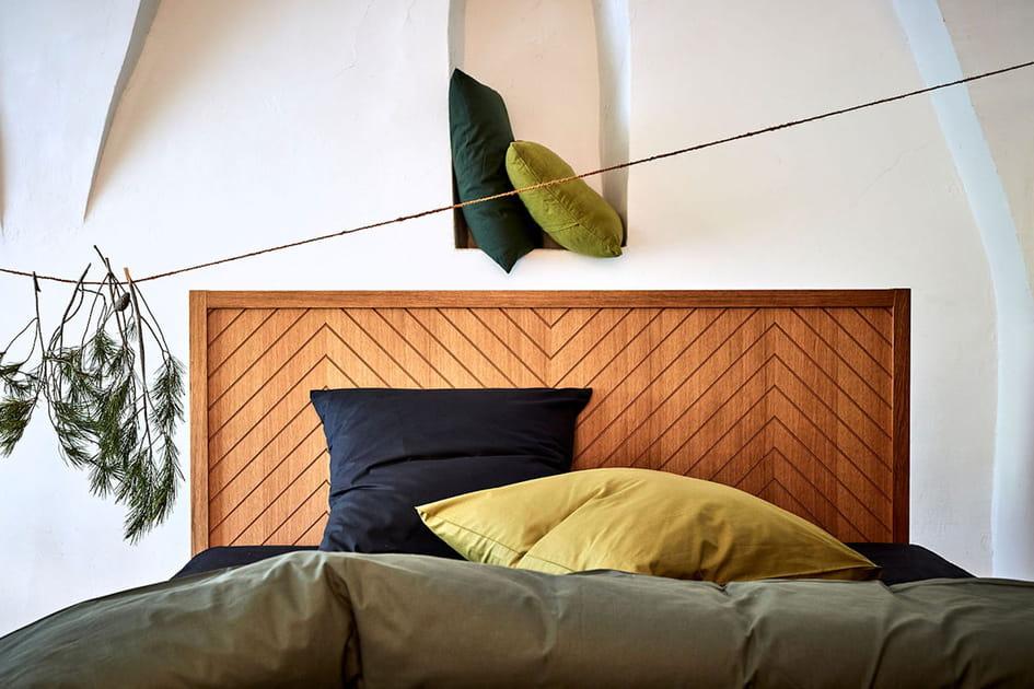 Tête de lit en bois alinea