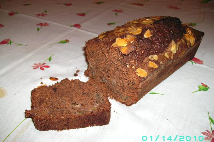 Cake choco-banane