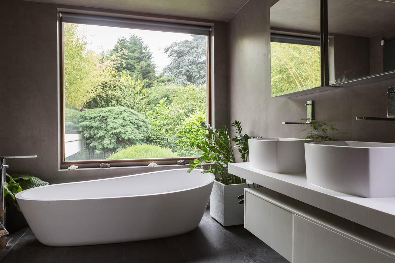 Salon De Bain Moderne salle de bain moderne : 17 idées design et inspirantes
