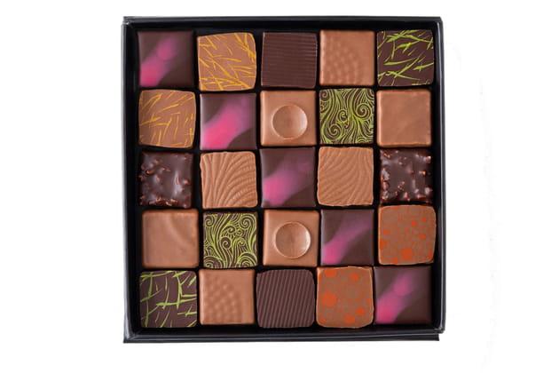 """Le bonbon """"Lorraine"""" d'Edwart Chocolatier"""