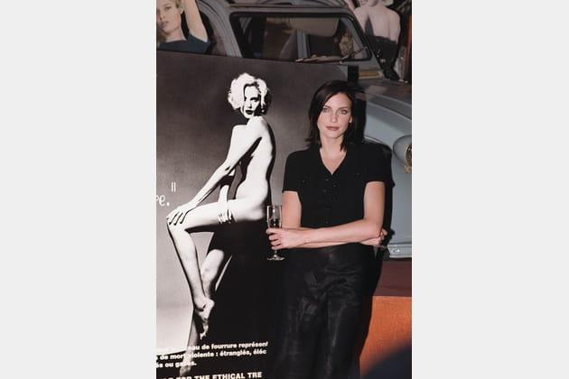 Nadja Auermann le 19octobre 1995