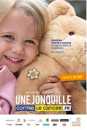 Affiche 2021 Une Jonquille pour Curie