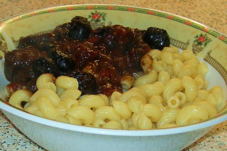 Daube provençale aux olives noires