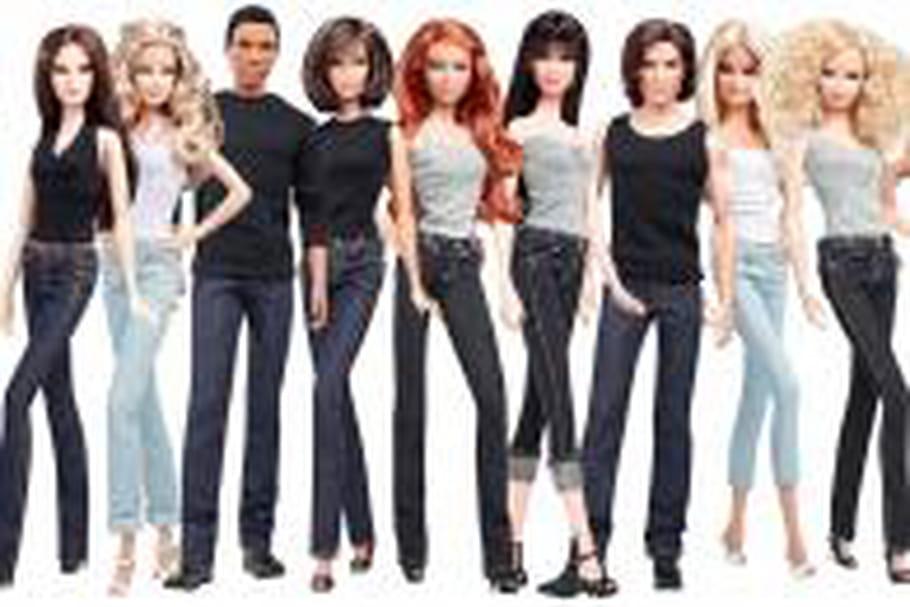Série Collector : Barbie se met sur son 501