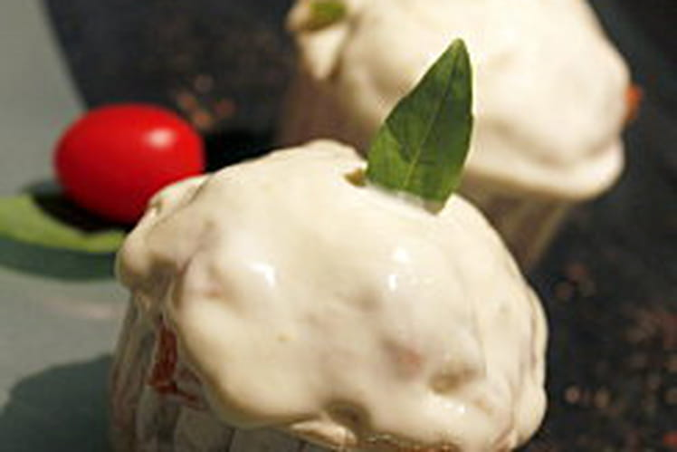 Cupcake salé méditerranéen