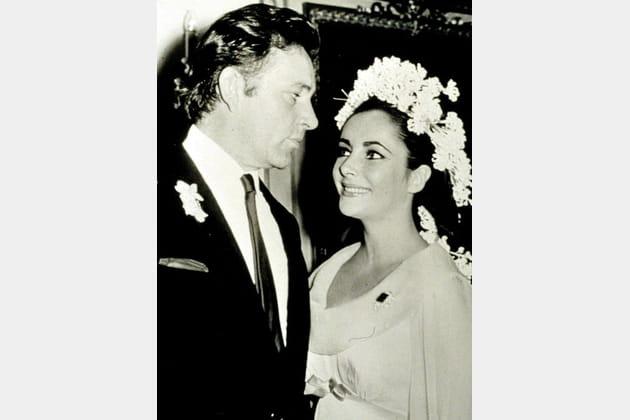 Liz Taylor et Richard Burton