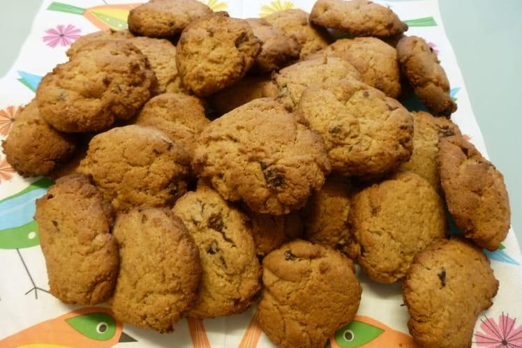 Cookies aux pruneaux et chocolat blanc