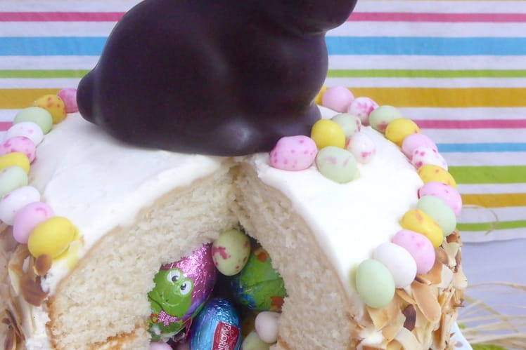 Gâteau surprise de Pâques