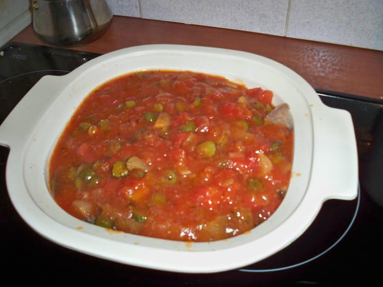 Recette de langue de boeuf sauce piquante la tomate la - Cuisiner langue de boeuf ...