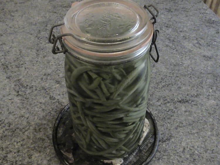 recette de haricots verts au sel conserve la recette facile. Black Bedroom Furniture Sets. Home Design Ideas