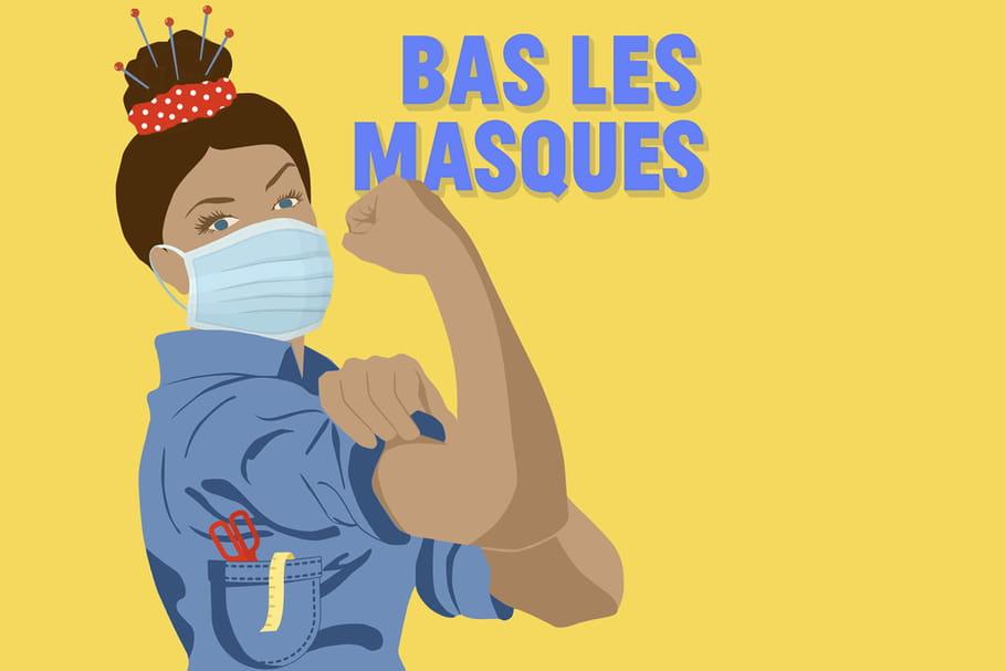 Masques solidaires: le grand combat des petites mains